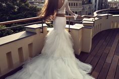 21 Beautiful Wedding Dresses With Statement Trains