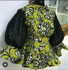 Short African Dresses, African Blouses, Latest African Fashion Dresses, African Print Dresses, African Print Fashion, Ankara Fashion, African Attire, African Wear, Ankara Blouse