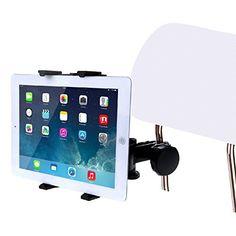 HAWEEL � Universal Tablet Mount Befestigungstasche f�r Air iPad / iPad 4 / iPad Mini, Samsung Galaxy Tab, 7-11 Zoll Tablet PC(Black)