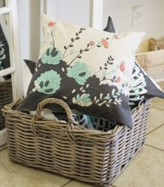 New In Store this Autumn! Crates, Throw Pillows, Autumn, Baskets, Lounge, Kitchen, Home Decor, Airport Lounge, Toss Pillows