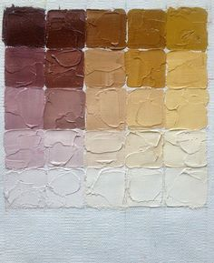 Easel Notes: Zorn Palette Scales