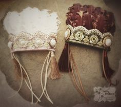 Native American Indian Headdress in Newborn Size, for photo shoot by Paisley Pinwheels www.facebook.com/paisleypinwheels