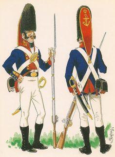 Granaderos de Infantería de marina 1808