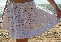 Ely Handmade: Fuste croşetate - schiţe crochet skirt