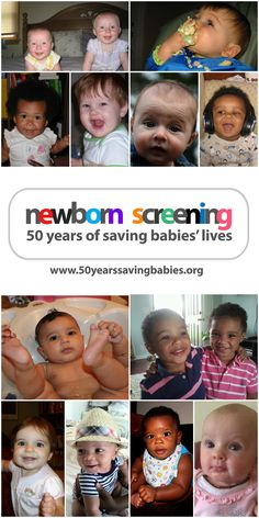 50 years of saving babies' lives! Learn more about newborn screening by clicking above #newbornscreening
