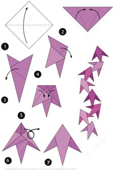 How to Make an Origami Fish Instructions Paper craft