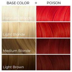Light Brown Hair, Light Hair, Dark Hair, Light Blonde, Artic Fox Hair, Arctic Fox Hair Dye, Hair Color Shades, Red Hair Color, Hair Colours