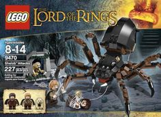 The Hobbit film series has also inspired Lego to create some exciting Hobbit Lego sets so that young fans of The Hobbit can act out their favorite scenes from the films.