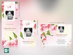 Petals Funeral Stationery Publisher Template Set is designed to compliment the Petals Funeral Program Template. Geared for memorial or funeral services, the stationery set includes a Bookmark, Prayer Card and Thank You Card. The soft colors and flowers combined with decorative text, lends itself to this and many other occasions like weddings, anniversaries, baby showers etc. This template is a Microsoft Publisher 365 template designed by Godserv to be edited with Microsoft Publisher 7 ...