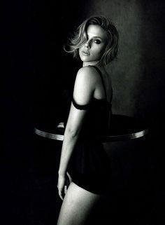 Scarlett Johannson's Best Dolce&Gabbana Looks - Vogue China April 2011 by Peter Lindbergh