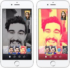 Ajout de filtres d'images et vidéos dans Facebook Messenger