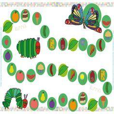 oruga.glotona.imprimible Preschool Education, Preschool Books, Activities For Kids, Spanish Activities, The Very Hungry Caterpillar Activities, Caterpillar Book, Chenille Affamée, Diy For Kids, Gifts For Kids