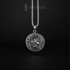 Vio-let Ever-garden 3D Print Zinc Alloy Stainless Steel Silver Steel Pentagram Necklace Jewelry for Men Women