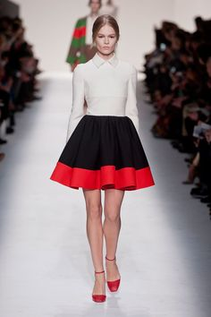 Can Fashion be Art?  Valentino says YES. Valentino Fall 2014