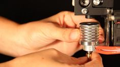 Next gen all metal 3D printer extruder from Micron