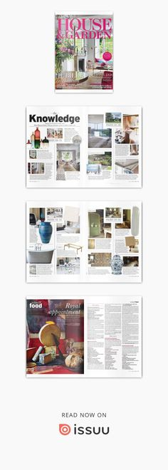 House and Garden Home And Garden, Colour, House, Shopping, Color, Haus, Home, Colors, Homes