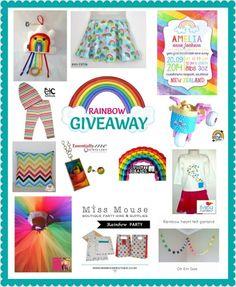 Enter to win: Rainbow Giveaway | http://www.dango.co.nz/s.php?u=eYpKU8LF2034