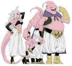 Dragon Ball Z, Dragon Z, Dragon Quest, Black Dragon, Majin Boo, Character Art, Character Design, Manga Poses, Got Dragons