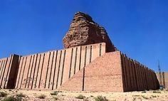 Ziggurat of Agargouf, Iraq. The main monument of the Kassites.  Today, about 25 remain, found in an area from southern Babylonia all the way north to Assyria. The best preserved is the ziggurat of Nanna in Ur (today Iraq), while the largest is found at Chogha Zanbil in Elam (today Iran). The latter of these is believed to have been nearly 50 metres high, but only half of that height remains.