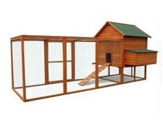 Wooden Chicken Coop XX-Large 365 x 152 x - Chicken Coops Tools And Equipment, Timber Roof, Perfect Eggs, Pet Gear, Roof Covering, Garden Planning, Garden Tools, Ideal Home, Beautiful Homes