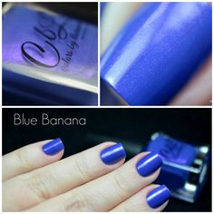 Blue Banana by @tanya_wish on Instagram