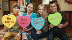 EXCLUSIVE: The Stars of Disney Channel Celebrate Valentine's Day in the Cutest Way Possible! - - Your exclusive first look at the casts of 'Girl Meets World', 'K. Undercover' and more Disney Channel stars wishing their fans a Happy Valentine's Day. Disney Channel Shows, Disney Shows, Disney Xd, Disney Movies, Girl Meets World Cast, Entertainment Tonight, Austin And Ally, Disney California, Child Actors