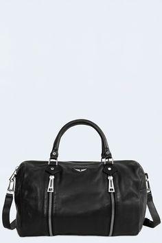 sac pour femme sunny noir Zadig & Voltaire