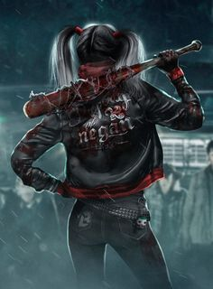 Harley Quinn X The Walking Dead - BossLogicInc