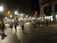 Plaça Catalunya de nit il.luminada I❤️Barcelona