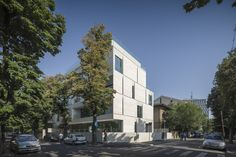 Gallery of MORA Residential Building / ADN Birou de Arhitectura - 20 residentieel gevel hoek TILIA POLK