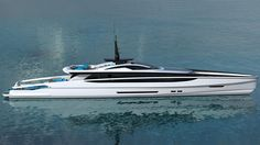 Milanese designer Federico Fiorentino has joined forces with Van Oossanen Naval Architects once again for a new 47.5 metre superyacht concept