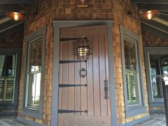 Exquisite Entrance! A front door fit for a royal here in Berkeley Hall, just one of the fabulous properties here in Bluffton, SC