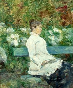 Countess Adele-Zoe de Toulouse-Lautrec (Artists Mother)   Henri de Toulouse-Lautrec