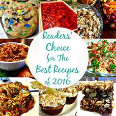It's always fun to see what you, our Sweet Readers, have made the most popular recipes each year. So, I'm excited to share with you our Readers' Choice for The Best Recipes of Sweet and savory, it's all right here in our top ten 2017 recipes. Most Popular Recipes, Holiday Tables, Pasta Recipes, Love Food, Good Things, Breakfast, Sweet, Posts, Recipe Collections