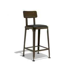 "Octane Counter Stool industry West $145.00  Octane Counter Stool dimensions: 16"" wide x 18"" deep x 38"" high; Seat height: 26""; Seat dimensions: 15.75"" wide x 13"" deep"