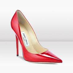 Anouk Patent Leather Shoe by Jimmy Choo