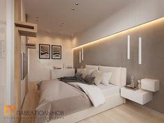 Фото: Дизайн спальни - Интерьер квартиры в современном стиле, ЖК «Московский квартал», 130 кв.м.