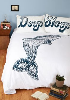 All Whale and Good Duvet Cover