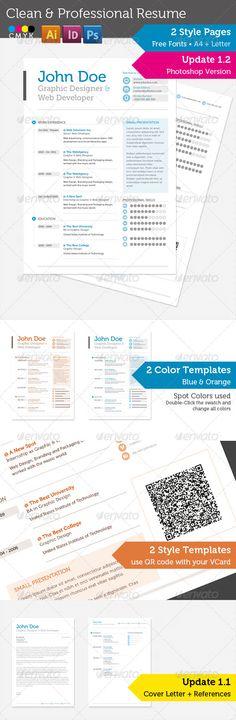 Flatty CV - Responsive Resume Template Currículo, Modelos de - update resume