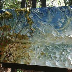 40x30 Seascape By: Florida Artist: Justin Gaffrey! www.justingaffrey.com