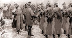 How English and German soldiers bonded during WWI Christmas Day Truce by telling jokes about the