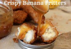 ~Crispy Banana Fritters!