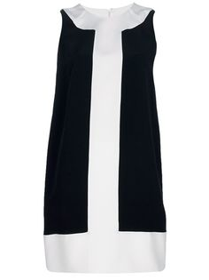 Two Tone Silk dress by Gianluca Capannolo  #Dress #Gianluca_Capannolo