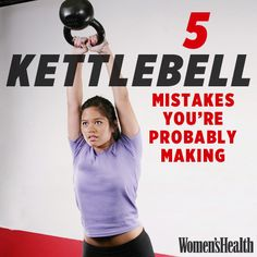 Find out if you're using kettlebells correctly! http://www.womenshealthmag.com/fitness/kettlebell?cm_mmc=Pinterest-_-womenshealth-_-content-fitness-_-kettlebellmistakes