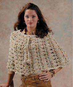 The Capelet - free crochet pattern for beginners - give it two hours and it's a wrap!