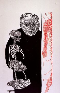 The Anatomist - Leonard Baskin
