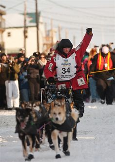 25-year-old Dallas Seavey won the Iditarod Trail Sled Dog Race, becoming the youngest ever Iditarod champion.