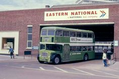 Days Gone in Southend - Eastern Natiinal Bus Garage Bristol, Road Transport, London Transport, Leigh On Sea, Double Decker Bus, Bus Coach, London Bus, The Old Days, Busses