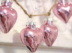 Pretty pink hearts  #pink #hearts #valentinesday