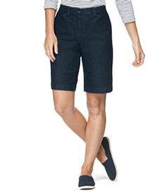 #LLBean: Easy Stretch Shorts, Denim